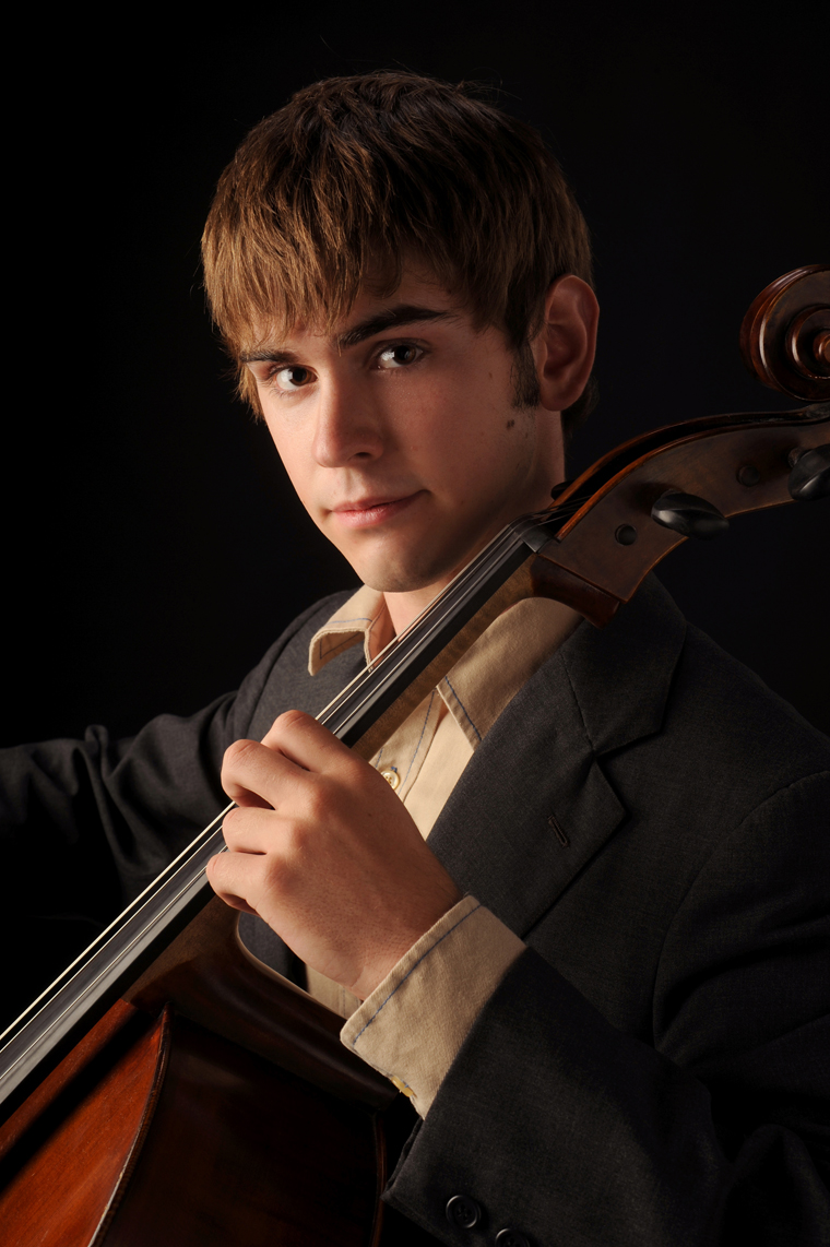 Senior Portrait with Instrument
